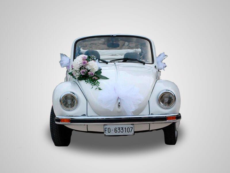 noleggio auto d'epoca per matrimonio a cesena