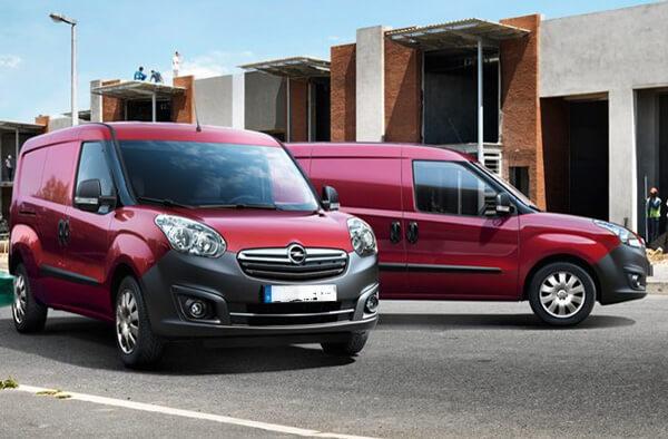 Noleggio Opel Combo Van e Tour Cesena